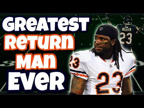"Meet the GREATEST ""Return Man"" Of All Time"