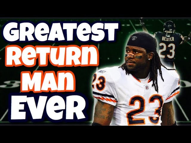 Meet the GREATEST Return Man Of All Time