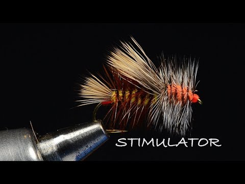 Stimulator Fly Tying Video - Tied by Charlie Craven