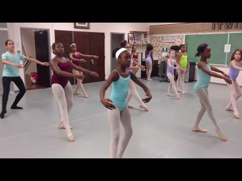 BIII pique' exercise  - Kenwood School of Ballet - Chicago