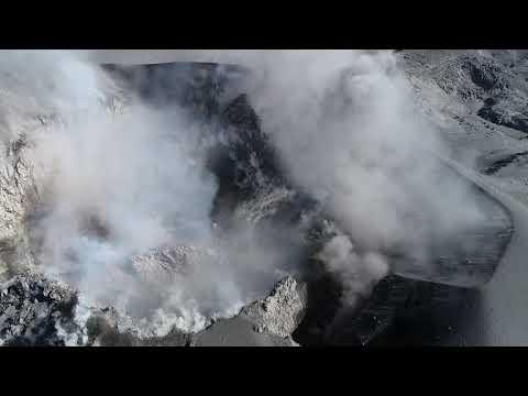 Volcán Sabancaya convertido en atractivo turístico