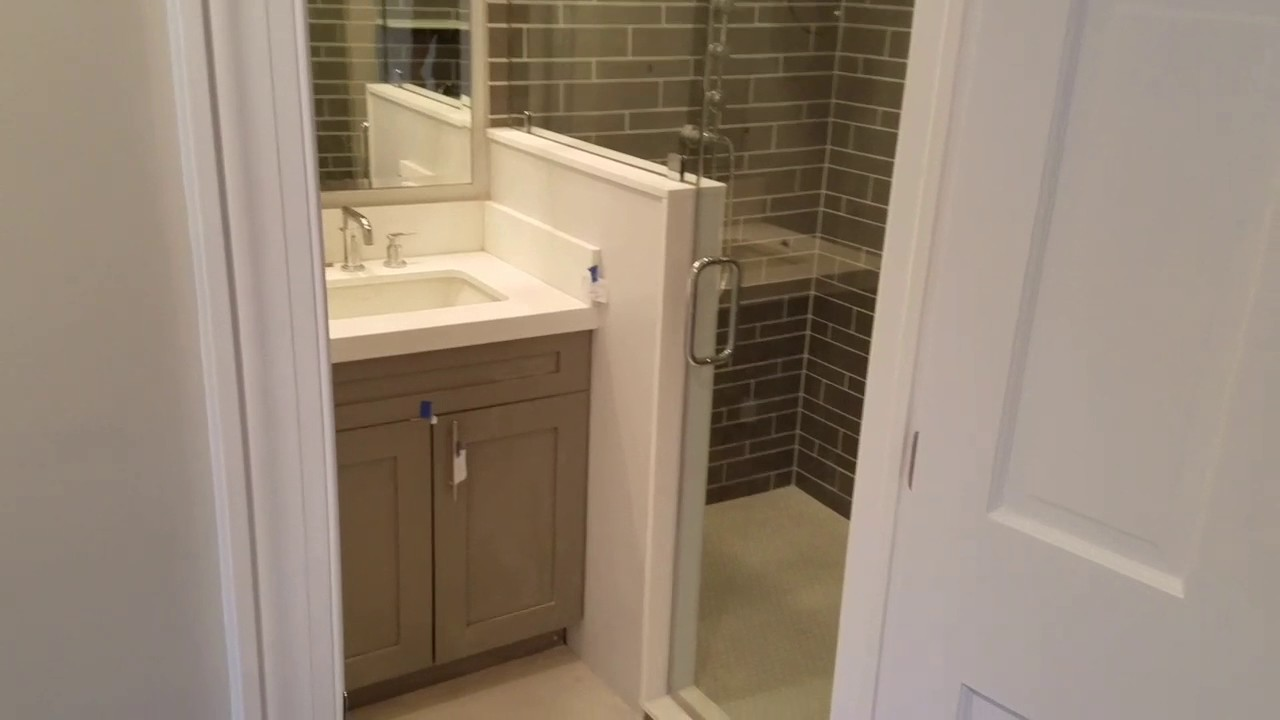 Frameless Shower Enclosure by Exceptional Glass of New Jersey - YouTube
