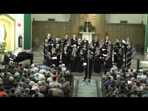 Goodnight Moon - Eric Whitacre - Premiere by Una Vocis Choral Ensemble