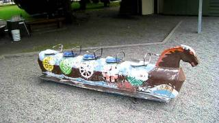 Vintage Playground Rocking Horse