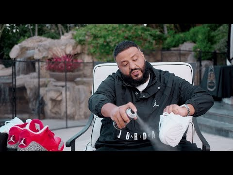 Dj Khaled Shows How to use Crep Protect - Tutorial
