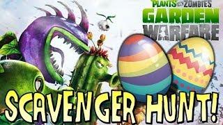 Plants vs Zombies Garden Warfare: Easter Egg Scavenger Hunt! Happy Easter!
