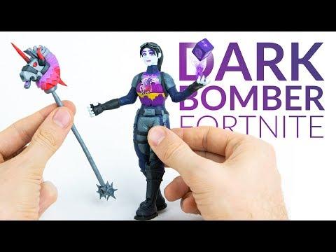 Dark Bomber & Thunder Crash (Fortnite Battle Royale) – Polymer Clay Tutorial