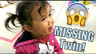 The MISSING Twin - April 02, 2016 -  ItsJudysLife Vlogs