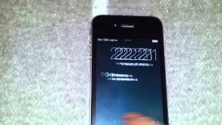 видео Разблокировка Iphone 5S Активация волшебной симкой UNLOCK