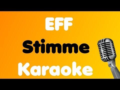 EFF - Stimme - Karaoke