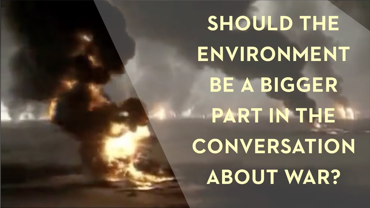 War, Peace and the Environment
