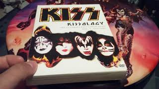KISS DVD + BLU -RAY COLLECTION