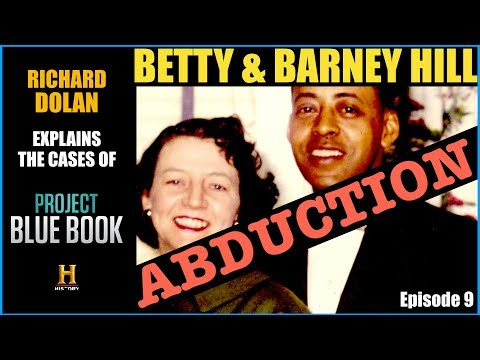 The Betty & Barney Hill Case. Richard Dolan.