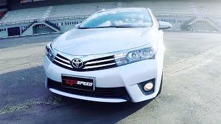 Toyota Corolla 2.0 CVT Multidrive - Test Drive (Canal Top Speed)