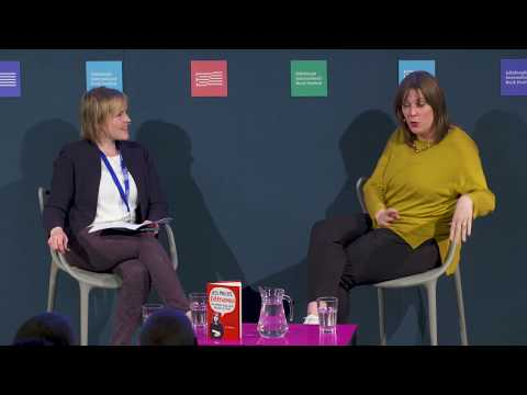 Jess Phillips at the Edinburgh International Book Festival