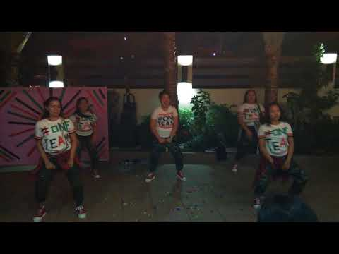Remix music dance competition