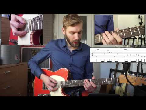 Sugar - Robin Schulz | Guitar Lesson | How to Play | With Tabs and Chords