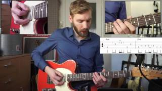 Gambar cover Sugar - Robin Schulz | Guitar Lesson | How to Play | With Tabs and Chords