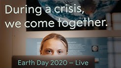 Greta Thunberg in conversation with Johan Rockström. Earth Day 2020