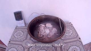 Limestone and Water Reaction