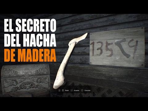 RESIDENT EVIL 7 | PUZZLE SECRETO DEL HACHA DE MADERA