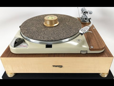 Custom Thorens TD-124 Turntable with Restored SME3009 Tonearm, Fully Customizable