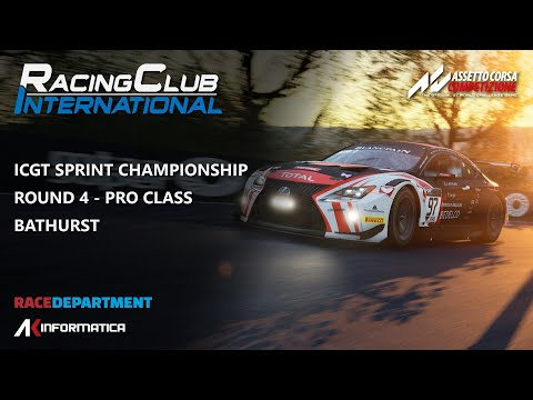 RCI Racing | ICGT Sprint Championship Round 4 @ Bathurst | PRO Split W/ Commentary