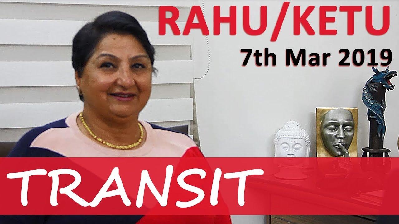 Rahu Ketu Transit From 7th Mar 2019 - High Adrenaline Rush, Mega Movements  With A Twist