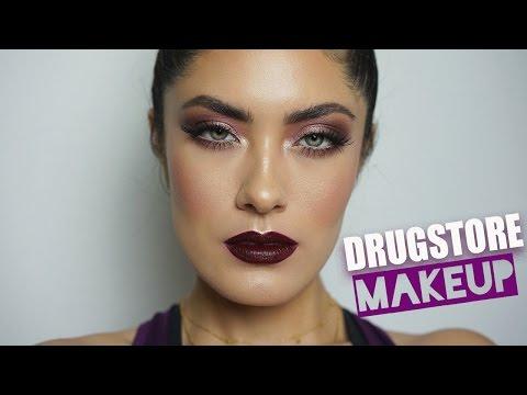 ALL Drugstore Prom Makeup Tutorial | Super GLAM! | Melissa Alatorre
