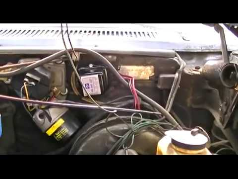 Replace Voltage Regulator 1967 Buick Riviera - YouTube