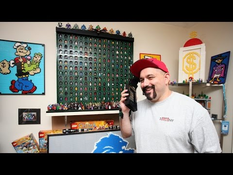 LEGO Artist Dad Earns A Living Making Incredible Toy Creations