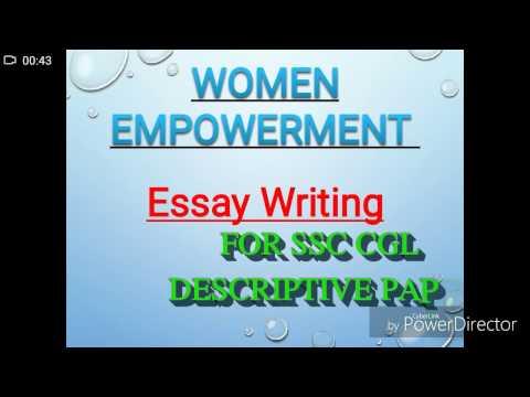 Women Empowerment ESSAY WRITING