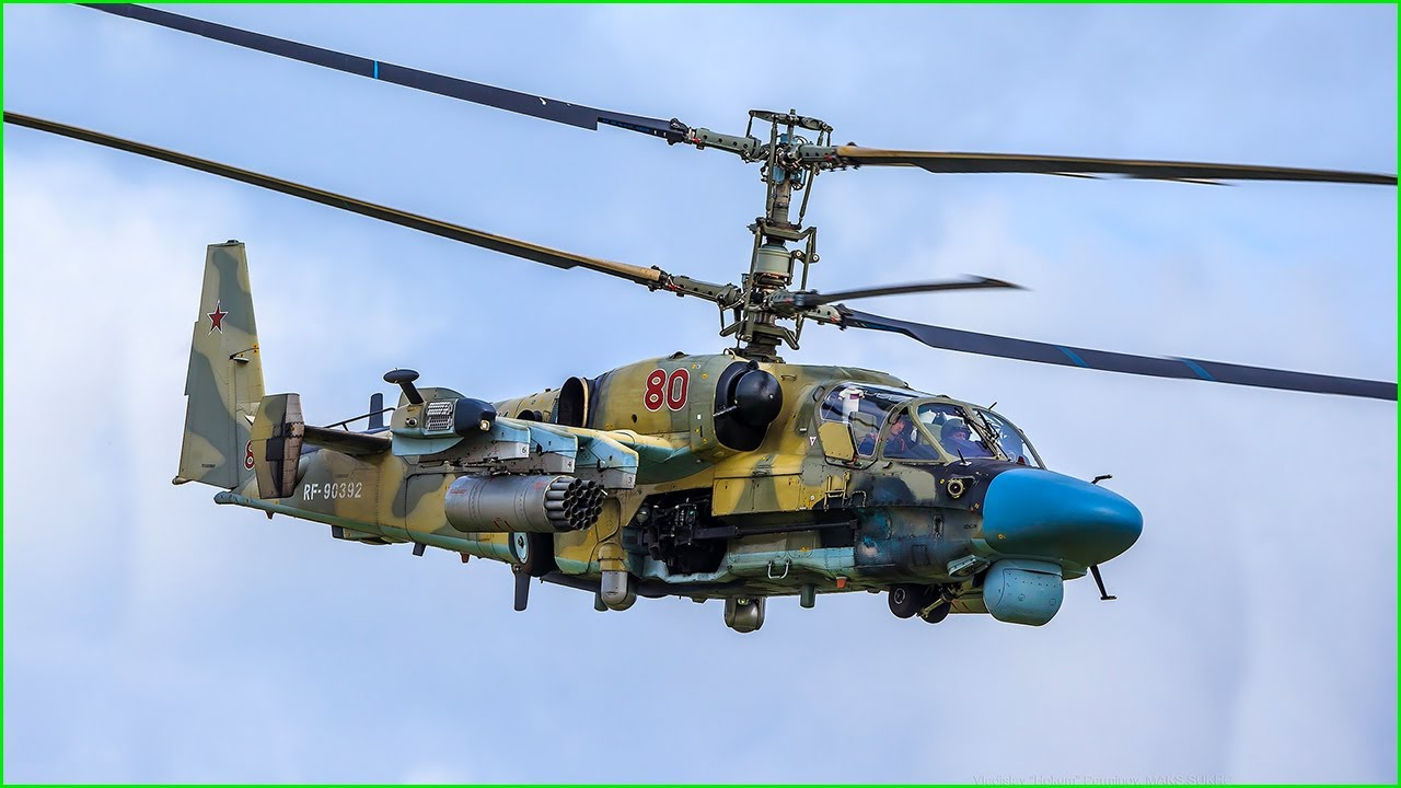 Russian Kamov Ka-52 | BEST ATTACK Helicopter in the world ? - YouTube