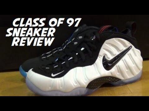 cf7a846001ebd Nike Class Of 97 Penny Foamposite Pro Hawk Sneaker Pack Review - YouTube