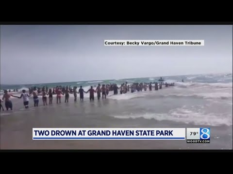 2 die after going under water at Grand Haven