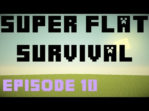 Minecraft - Super Flat Survival [Ep. 10] - The Pig Farm