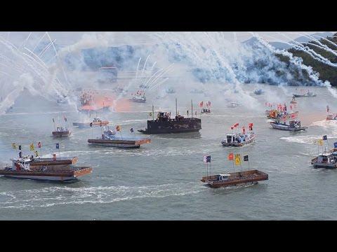 Festival reenacts Korea's legendary naval victory 400 years ago