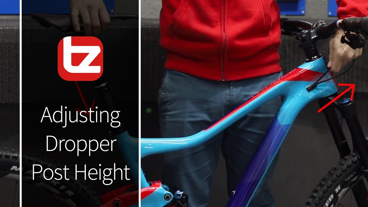 How To Adjust Your Dropper Post Height without damaging the