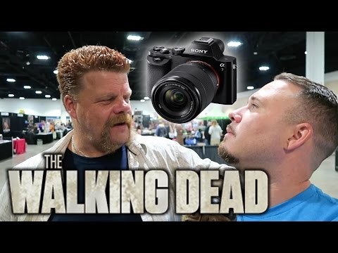 Dropping My $1000 Camera While Fanboying -TWD Abraham Ford