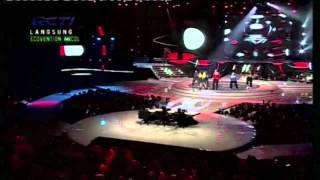 Bendera / Dance I love Indonesia (Live on Idols) - Vj Daniel Mananta feat. DJ Devina and Maharasyi