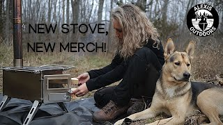 Exciting Things! | MERCH, New Woodstove, and More! |