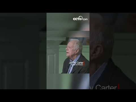 Jimmy Carter: Trump worries about China