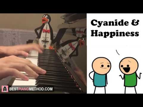 """Cyanide & Happiness (Theme Song) - """"I Like Your Hat"""" (Piano Cover by Amosdoll)"""
