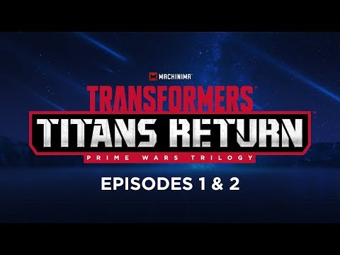 Transformers titans return мультфильм