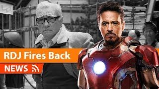Robert Downey Jr. On Martin Scorsese Bashing MCU Movies