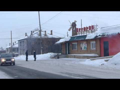 в городе зима