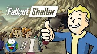 Fallout Shelter (игра на Android и iOS) - Обживаем бункер