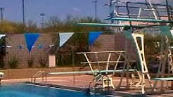 Dominic on the High Dive