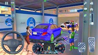 재미있는 세차 사고 AMG 메르세데스 시티 운전 - B…