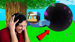 i ACCIDENTLY BLEW UP BLACKHOLE TNT !! Minecraft Malayalam